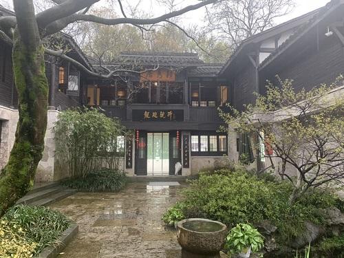 圖為中國茶葉博物館內景 楊德杰 攝