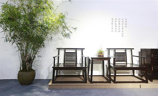 紅木家具。東陽宣傳部提供
