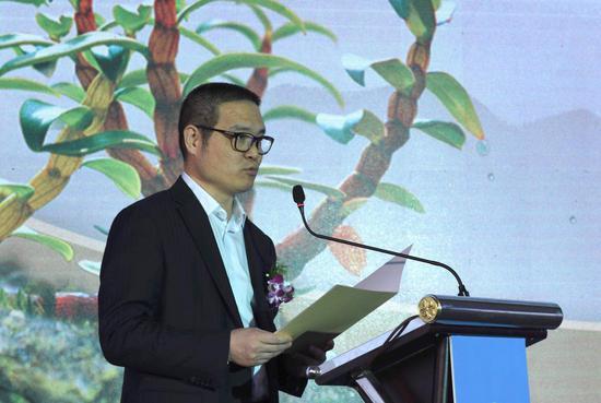 樂清市人民政府副市長吳振弟致辭。主辦方提供
