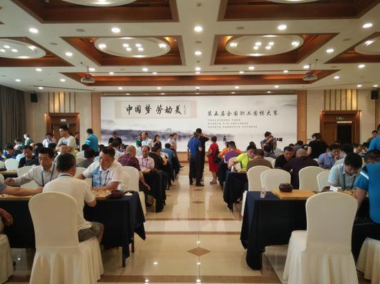 圖為職工圍棋大賽 杭州市總工會