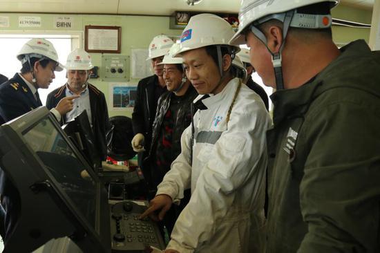 圖為活動現場。寧波海事局提供