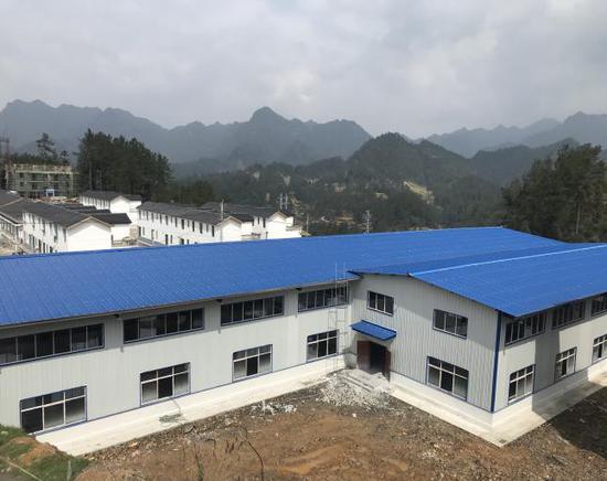 圖為援建茶葉加工廠 余杭區提供