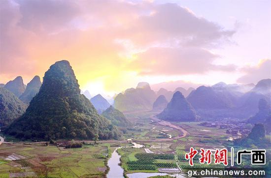桂北小镇美如画