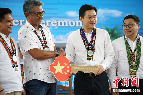 中國援建菲律賓戒毒中心項目全面移交
