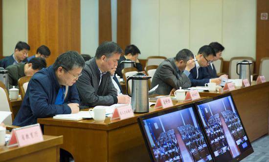 2019年全民科学素质行动计划实施工作电视电话会议。浙江省科协供图