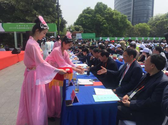 2019千島湖茶博會現場。 應欣睿 攝