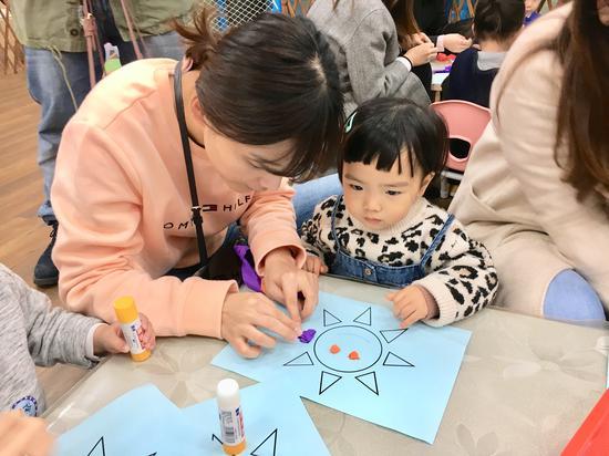英联贝贝招生体验活动现场  杭州英联贝贝儿童教育中心提供