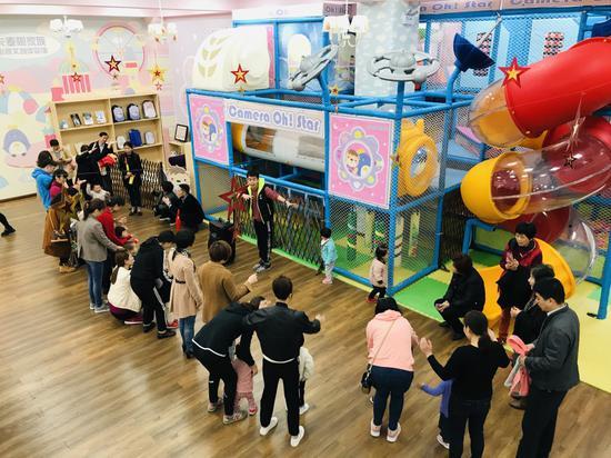 英聯貝貝招生體驗活動現場  杭州英聯貝貝兒童教育中心提供