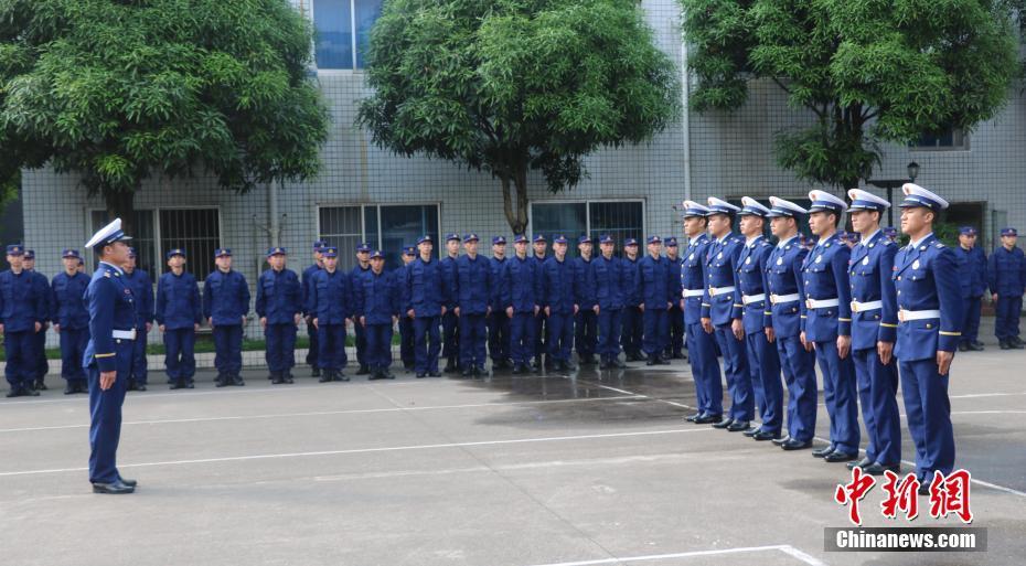 廣西220名新招錄消防員正式開展入職集訓