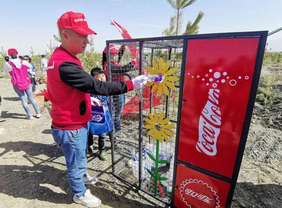 中粮可口可乐饮料(新疆)有限公司公益植树活动圆满结束