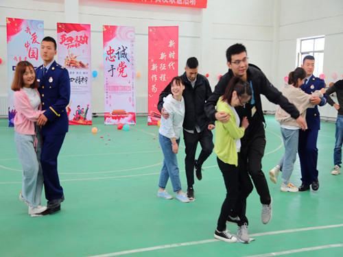 轮台县举办单身青年交友联谊活动