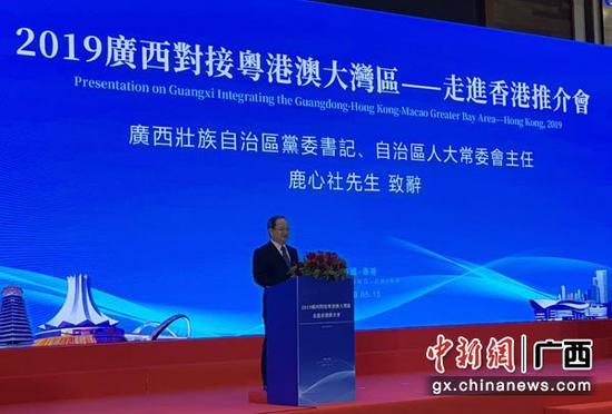 桂港投资合作项目集中签约 对接粤港澳大湾区