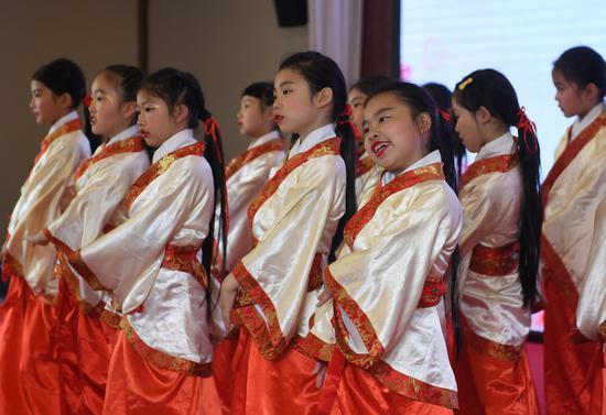 杭州舉行青少年詩詞大會 弘揚中華詩詞文化