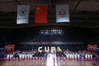 图为第21届CUBA开幕现场。供图