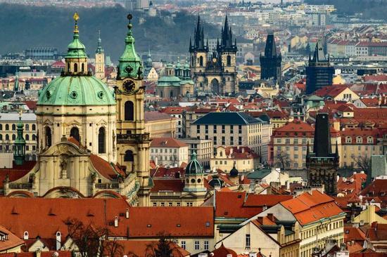 捷克首都布拉格。 东阳提供
