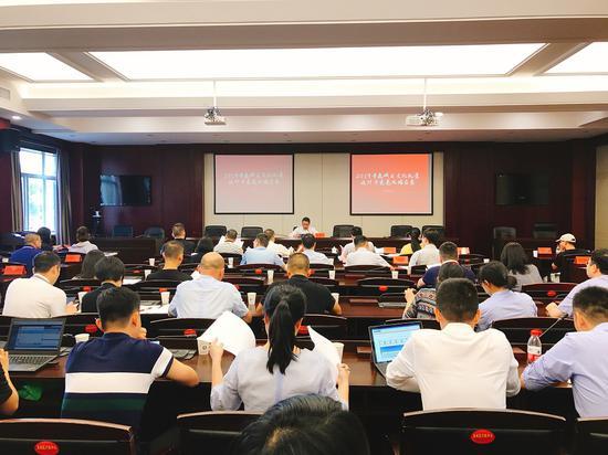 近日,浙江省温州市鹿城区召开2019年文化礼堂设计方案竞比擂台赛。鹿城宣传部供图