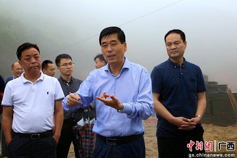 廣西政協副主席錢學明考察土瑤地區脫貧攻堅產業發展