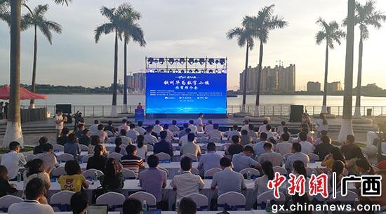 华为将加大在广西钦州的投入 深化在5G等领域的合作