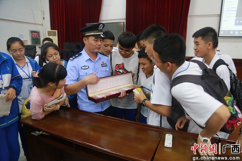 欽北區禁毒辦開展禁毒宣傳教育活動