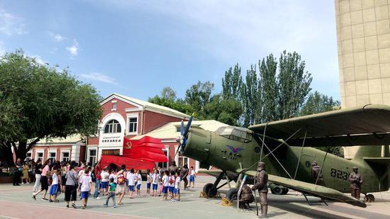 新疆机场历史陈列馆面向社会公众开放