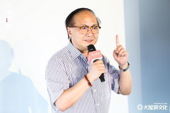 圖為:良渚文化村董事長陳軍。 主辦方供圖