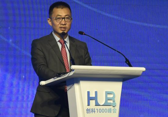 荷马国际CEO叶程坤致辞 张丹 摄