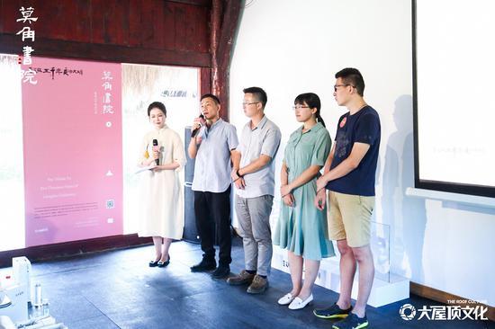 圖為:浙江省文物考古研究所考古人。 主辦方供圖