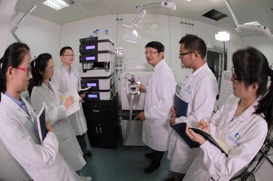 中成药质量评价重点实验室。浙江省食品药品检验研究院 供图