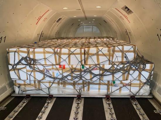 杭州机场开通至马尼拉全货机航线。 杭州机场供图