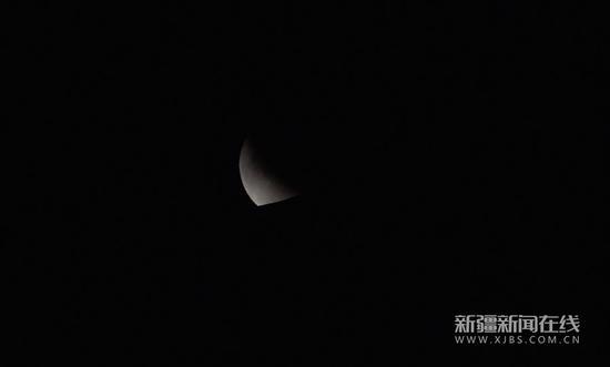 2019年最后一轮月偏食17日凌晨登场 中国大部可见