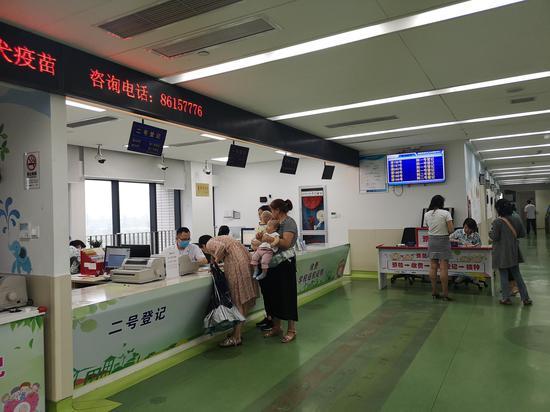 图为浙江县域医共体医院。  张煜欢 摄