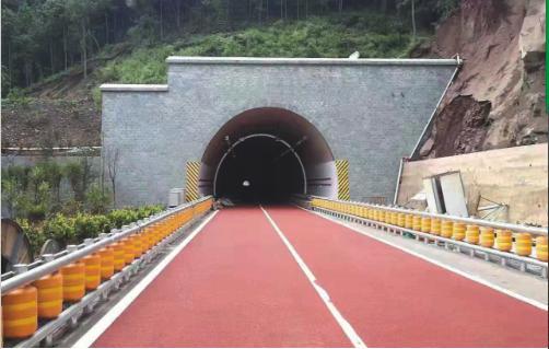 应用场景:隧道入口 企业供图