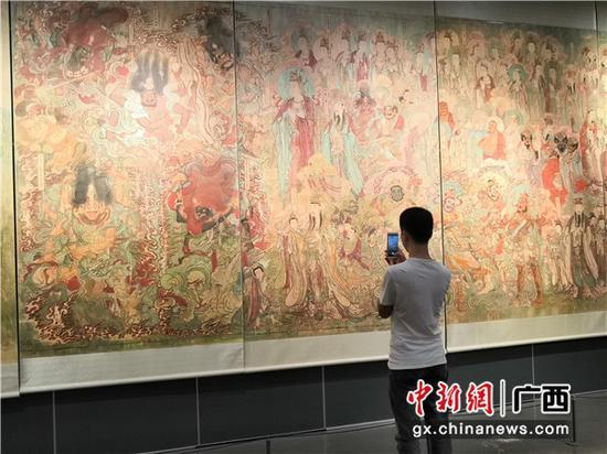 南宁博物馆举行毗卢寺壁画摹本展