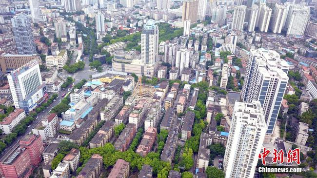 广西南宁最老旧小区拆迁 二战时曾是前线机场