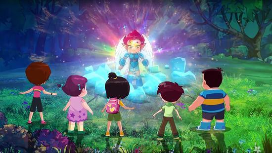 《天眼归来》动画片。中南卡通供图