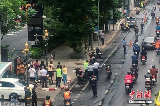 泰国曼谷爆炸案致至少4人伤 泰总理谴责肇事者