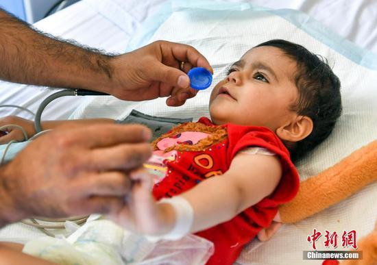 阿富汗先心病患儿筛查救助行动二期项目首批患儿在新疆完成手术