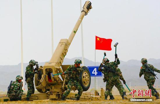 """六国""""军械能手""""齐聚新疆库尔勒 一决高下""""谁更快"""""""