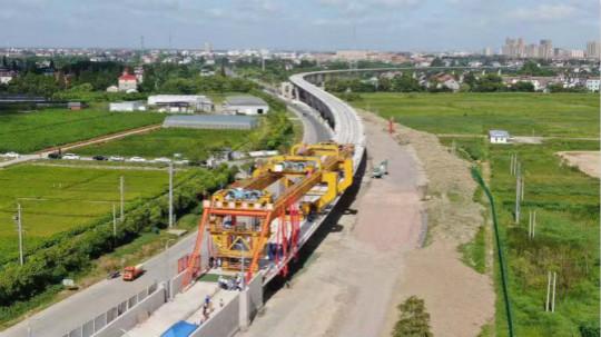 图为活动现场。浙江省交通集团杭海城际铁路供图
