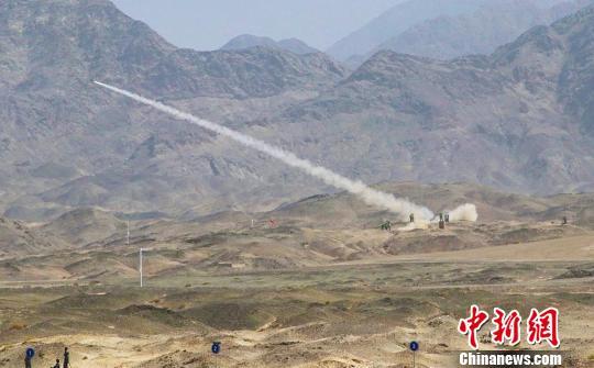 """""""晴空""""项目综合赛场中国防空导弹兵表现抢眼"""