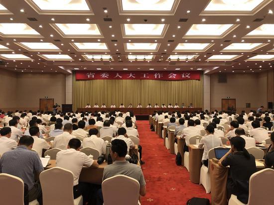 浙江省委人大工作会议  杨潇潇 摄