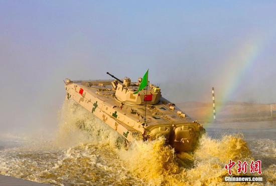 國際軍事比賽閉幕式精彩回顧