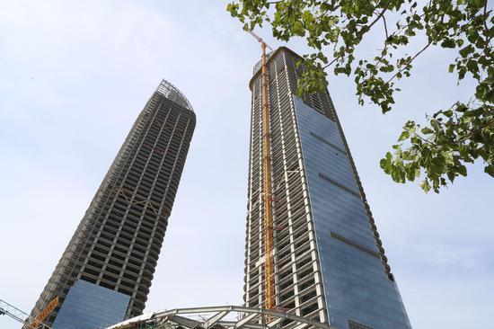 """绿地双子塔:用心创造""""塞上湖城""""新高度"""