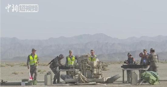 國際軍事比賽:中國軍隊在庫爾勒賽區奪冠