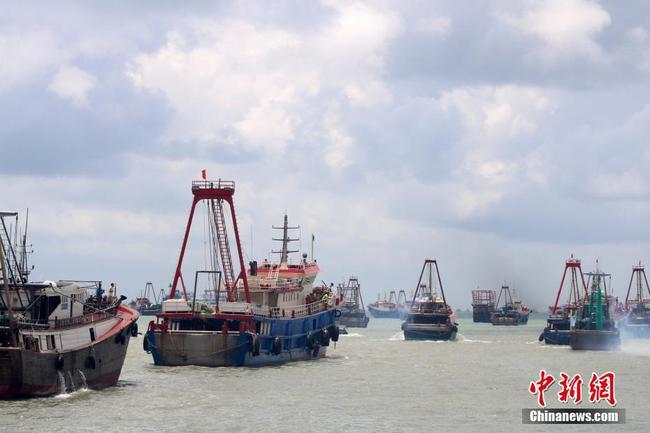 南海开渔 广西沿海举行盛大开海仪式