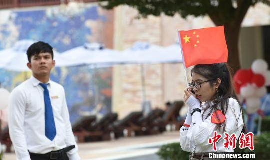 """柬埔寨中国商会为中资企业未婚青年做""""红娘"""""""
