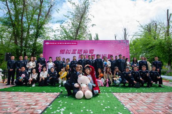 新疆伊犁边境管理支队:助力新警成家安业