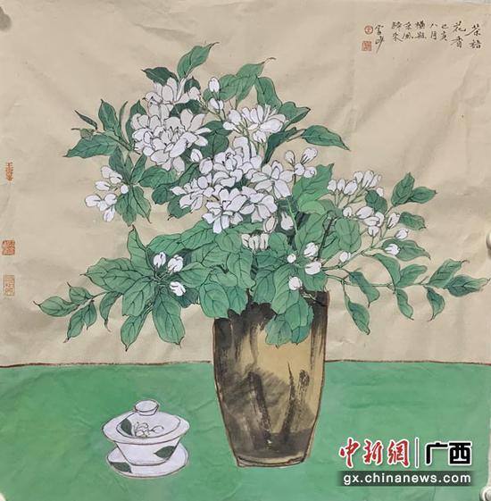 图为王雪峰创作的作品。