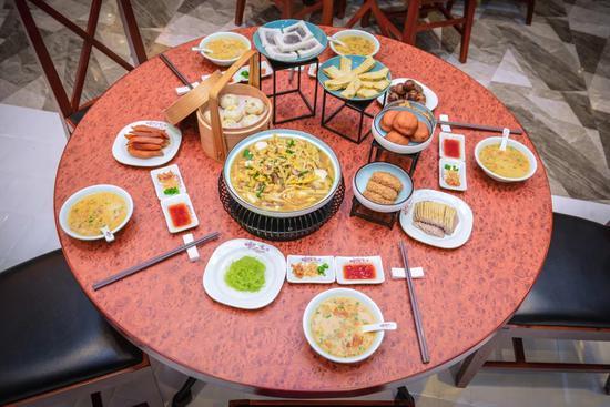图为:浙江嵊州小吃。 嵊州商务局供图