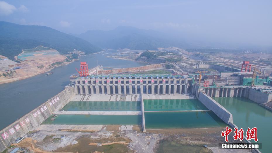 探访广西大藤峡水利枢纽工程:人字闸门世界最高